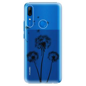 Plastové pouzdro iSaprio - Three Dandelions black na mobil Huawei P Smart Z