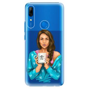 Plastové pouzdro iSaprio - Coffee Now Brunette na mobil Huawei P Smart Z