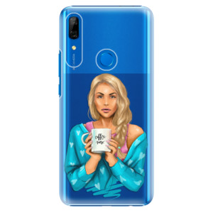 Plastové pouzdro iSaprio - Coffee Now Blond na mobil Huawei P Smart Z