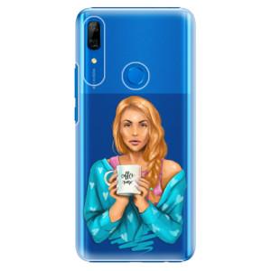 Plastové pouzdro iSaprio - Coffee Now Redhead na mobil Huawei P Smart Z