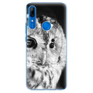 Plastové pouzdro iSaprio - BW Owl na mobil Huawei P Smart Z