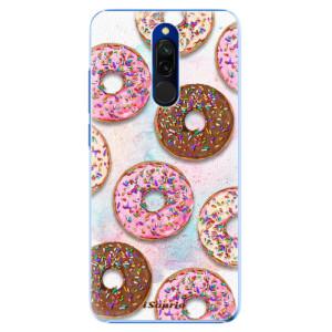 Plastové pouzdro iSaprio - Donuts 11 na mobil Xiaomi Redmi 8