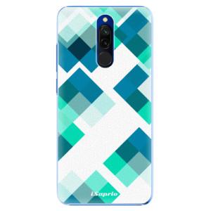Plastové pouzdro iSaprio - Abstract Squares 11 na mobil Xiaomi Redmi 8