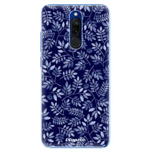 Plastové pouzdro iSaprio - Blue Leaves 05 na mobil Xiaomi Redmi 8