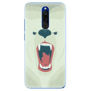 Plastové pouzdro iSaprio - Angry Bear na mobil Xiaomi Redmi 8