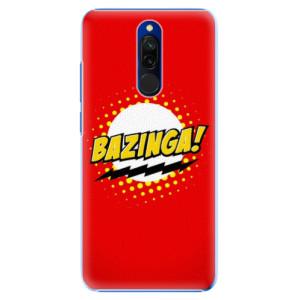 Plastové pouzdro iSaprio - Bazinga 01 na mobil Xiaomi Redmi 8