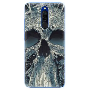 Plastové pouzdro iSaprio - Abstract Skull na mobil Xiaomi Redmi 8