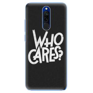 Plastové pouzdro iSaprio - Who Cares na mobil Xiaomi Redmi 8