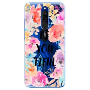 Plastové pouzdro iSaprio - BeYouTiful na mobil Xiaomi Redmi 8