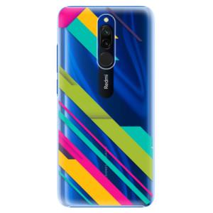 Plastové pouzdro iSaprio - Color Stripes 03 na mobil Xiaomi Redmi 8