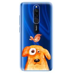 Plastové pouzdro iSaprio - Dog And Bird na mobil Xiaomi Redmi 8