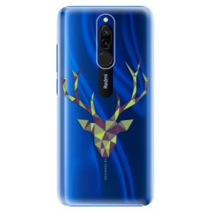 Plastové pouzdro iSaprio - Deer Green na mobil Xiaomi Redmi 8