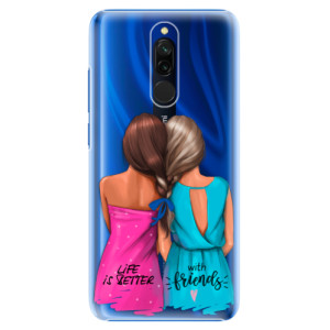 Plastové pouzdro iSaprio - Best Friends na mobil Xiaomi Redmi 8