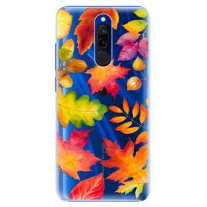 Plastové pouzdro iSaprio - Autumn Leaves 01 na mobil Xiaomi Redmi 8