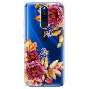 Plastové pouzdro iSaprio - Fall Flowers na mobil Xiaomi Redmi 8