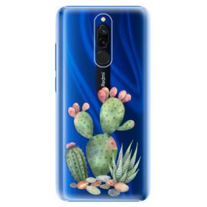 Plastové pouzdro iSaprio - Cacti 01 na mobil Xiaomi Redmi 8