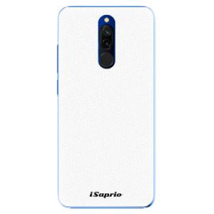 Plastové pouzdro iSaprio - 4Pure - bílé na mobil Xiaomi Redmi 8