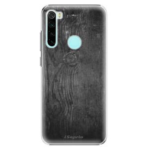 Plastové pouzdro iSaprio - Black Wood 13 na mobil Xiaomi Redmi Note 8