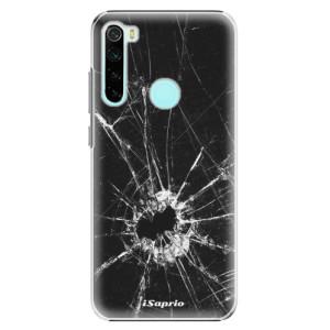 Plastové pouzdro iSaprio - Broken Glass 10 na mobil Xiaomi Redmi Note 8