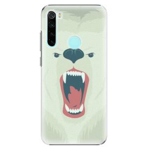 Plastové pouzdro iSaprio - Angry Bear na mobil Xiaomi Redmi Note 8