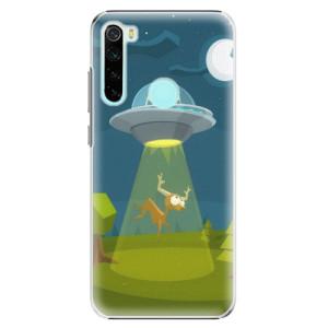 Plastové pouzdro iSaprio - Alien 01 na mobil Xiaomi Redmi Note 8