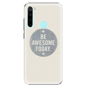 Plastové pouzdro iSaprio - Awesome 02 na mobil Xiaomi Redmi Note 8