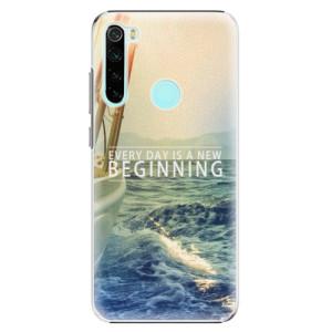 Plastové pouzdro iSaprio - Beginning na mobil Xiaomi Redmi Note 8