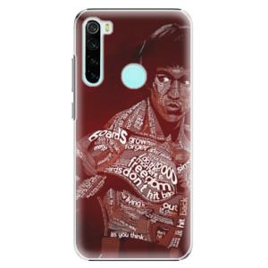 Plastové pouzdro iSaprio - Bruce Lee na mobil Xiaomi Redmi Note 8