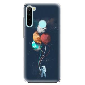 Plastové pouzdro iSaprio - Balloons 02 na mobil Xiaomi Redmi Note 8