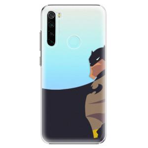 Plastové pouzdro iSaprio - BaT Comics na mobil Xiaomi Redmi Note 8