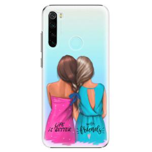 Plastové pouzdro iSaprio - Best Friends na mobil Xiaomi Redmi Note 8
