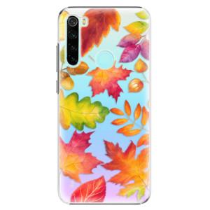 Plastové pouzdro iSaprio - Autumn Leaves 01 na mobil Xiaomi Redmi Note 8