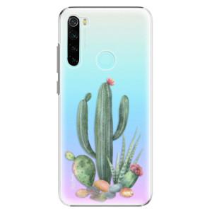 Plastové pouzdro iSaprio - Cacti 02 na mobil Xiaomi Redmi Note 8