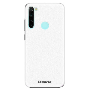 Plastové pouzdro iSaprio - 4Pure - bílé na mobil Xiaomi Redmi Note 8