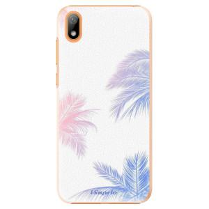 Plastové pouzdro iSaprio - Digital Palms 10 na mobil Huawei Y5 2019