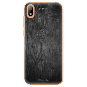 Plastové pouzdro iSaprio - Black Wood 13 na mobil Huawei Y5 2019