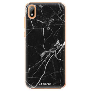 Plastové pouzdro iSaprio - Black Marble 18 na mobil Huawei Y5 2019