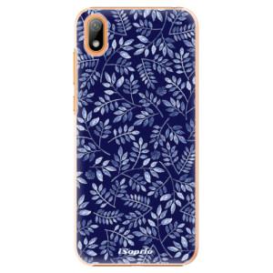 Plastové pouzdro iSaprio - Blue Leaves 05 na mobil Huawei Y5 2019