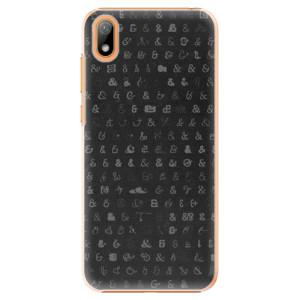Plastové pouzdro iSaprio - Ampersand 01 na mobil Huawei Y5 2019