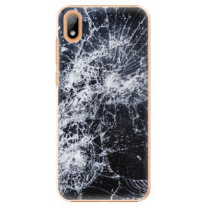 Plastové pouzdro iSaprio - Cracked na mobil Huawei Y5 2019