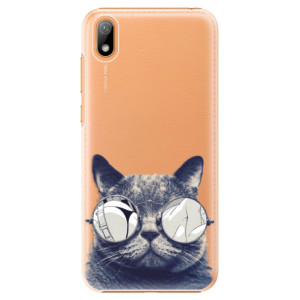 Plastové pouzdro iSaprio - Crazy Cat 01 na mobil Huawei Y5 2019