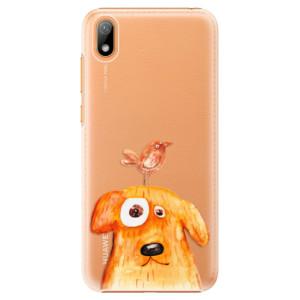 Plastové pouzdro iSaprio - Dog And Bird na mobil Huawei Y5 2019