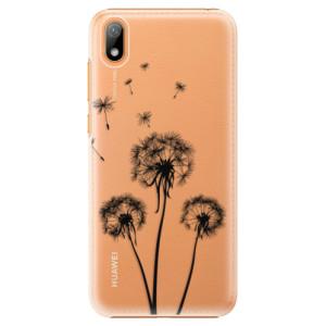 Plastové pouzdro iSaprio - Three Dandelions - black na mobil Huawei Y5 2019