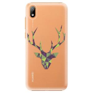 Plastové pouzdro iSaprio - Deer Green na mobil Huawei Y5 2019