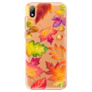Plastové pouzdro iSaprio - Autumn Leaves 01 na mobil Huawei Y5 2019