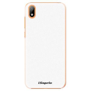 Plastové pouzdro iSaprio - 4Pure - bílé na mobil Huawei Y5 2019