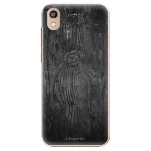 Plastové pouzdro iSaprio - Black Wood 13 na mobil Honor 8S