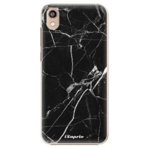 Plastové pouzdro iSaprio - Black Marble 18 na mobil Honor 8S