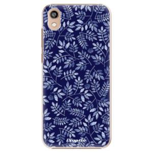 Plastové pouzdro iSaprio - Blue Leaves 05 na mobil Honor 8S