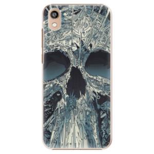 Plastové pouzdro iSaprio - Abstract Skull na mobil Honor 8S